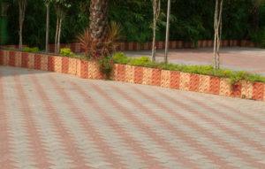 Shieeld brand I shaped interlocking pavers manufactured by Literoof, Chennai