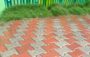 I Shape interlocking pavers manufactured by Literoof, Chennai